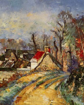 The Turn in the Road at Auvers Paul Cezanne Oil Paintings