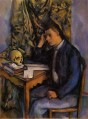 Young Man and Skull Paul Cezanne