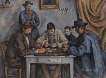 The Card Players 1892 Paul Cezanne Oil Paintings