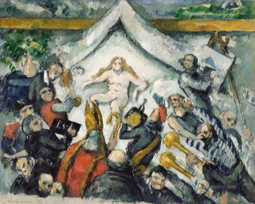 The Eternal Woman Paul Cezanne Oil Paintings