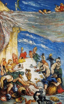 The Feast The Banquet of Nebuchadnezzar Paul Cezanne Oil Paintings