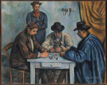 the card players 1893 Paul Cezanne Decor Art