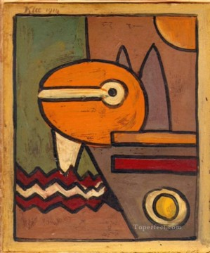 Klee Oil Painting - Expressionism Bauhaus Surrealism Paul Klee