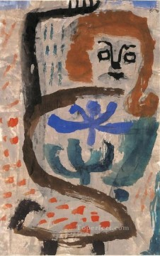 Paul Klee Painting - A swarming Paul Klee