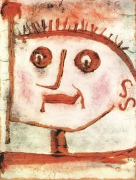 Klee Oil Painting - An allegory of propaganda Paul Klee
