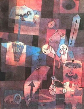 Analysis of diverse pervers Paul Klee Oil Paintings