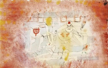 Paul Klee Painting - Bad band Paul Klee