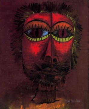 Paul Klee Painting - Bandit head Paul Klee