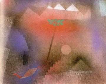 Paul Klee Painting - Bird Wandering Off Paul Klee