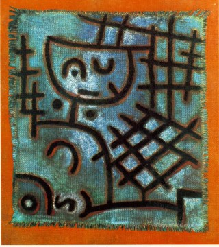Klee Oil Painting - Captive 1940 Expressionism Bauhaus Surrealism Paul Klee