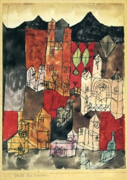 City of Churches Paul Klee Oil Paintings
