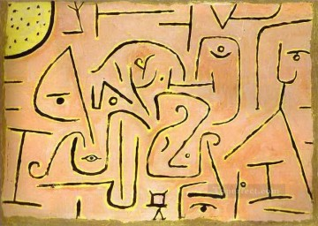 Contemplation Paul Klee Oil Paintings