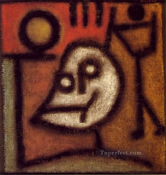 Paul Klee Painting - Death and fire Paul Klee