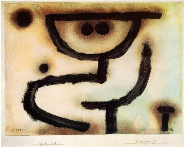 Klee Oil Painting - Embrace 1939 Expressionism Bauhaus Surrealism Paul Klee