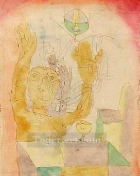 Paul Klee Painting - Enlightenment of two Sectie Paul Klee