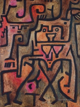 Paul Klee Painting - Forest Witch Paul Klee