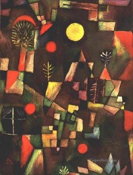 Paul Klee Painting - Full moon Paul Klee