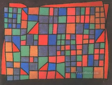 Paul Klee Painting - Glass Facade Paul Klee