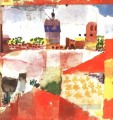 Hammamet with mosque Paul Klee