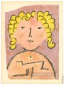 Head of a child Paul Klee
