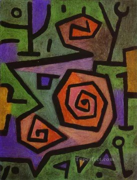 Heroic Roses Paul Klee Oil Paintings
