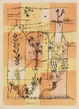 Hoffmanneske scene Paul Klee Oil Paintings