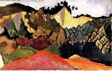 In the Quarry Paul Klee Oil Paintings