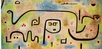 Insula Dulcamara 1938 Expressionism Bauhaus Surrealism Paul Klee Oil Paintings