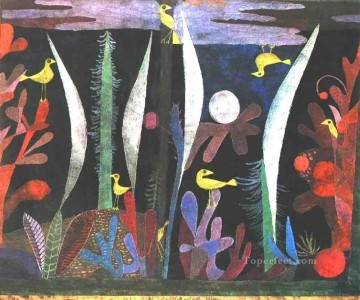 Klee Oil Painting - Landscape with Yellow Birds Paul Klee
