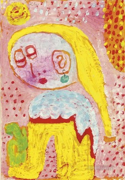 Paul Klee Painting - Magdalena before the conver Paul Klee