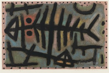 Mess of fish Paul Klee Oil Paintings