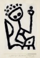 Mumon drunk falls into the chair Paul Klee