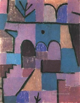 Klee Oil Painting - Oriental Garden Paul Klee
