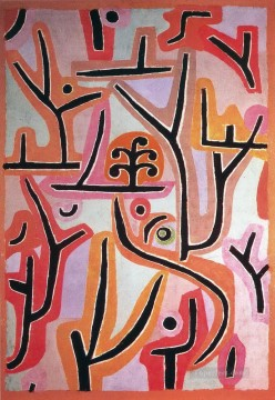 Klee Oil Painting - Park Bei Lu Paul Klee