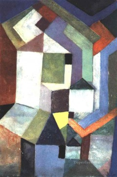 Paul Klee Painting - Pious northern landscape Paul Klee