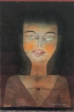 Paul Klee Painting - Possessed girl Paul Klee
