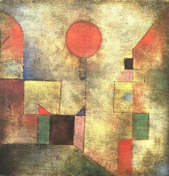 Paul Klee Painting - Red Balloon Paul Klee
