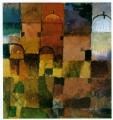 Red and White Domes 1914 Expressionism Bauhaus Surrealism Paul Klee
