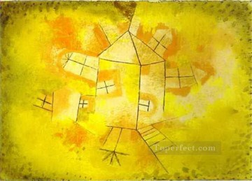 Revolving House Paul Klee Oil Paintings