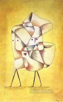 Paul Klee Painting - Siblings Paul Klee