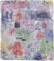 Small Landscape with the village church Paul Klee