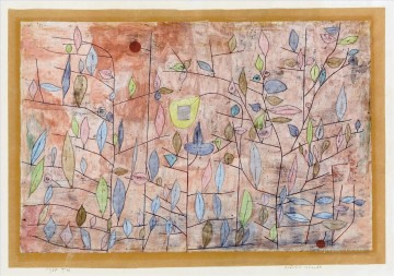 Klee Oil Painting - Sparse foliage Paul Klee