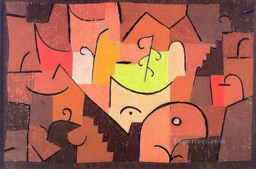 Stage Landscape Paul Klee Oil Paintings