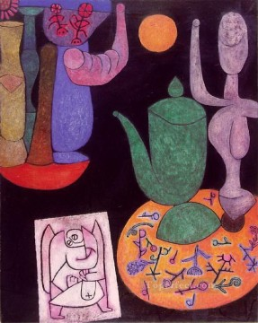 Paul Klee Painting - Still life Paul Klee