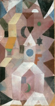 Paul Klee Painting - The Chapel Paul Klee