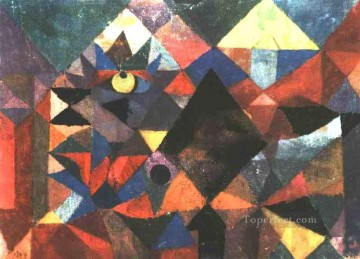 Paul Klee Painting - The Light and So Much Else Paul Klee