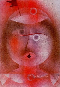 Paul Klee Painting - The Mask with the Little Fl Paul Klee