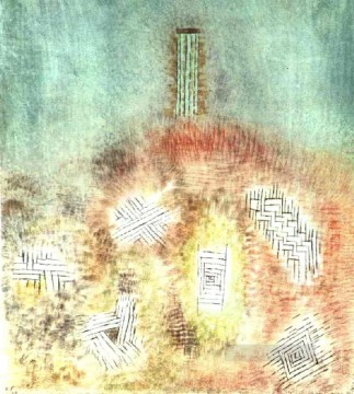Paul Klee Painting - The column Paul Klee
