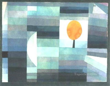 Paul Klee Painting - The messenger of autumn Paul Klee
