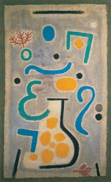 Paul Klee Painting - The vase Paul Klee